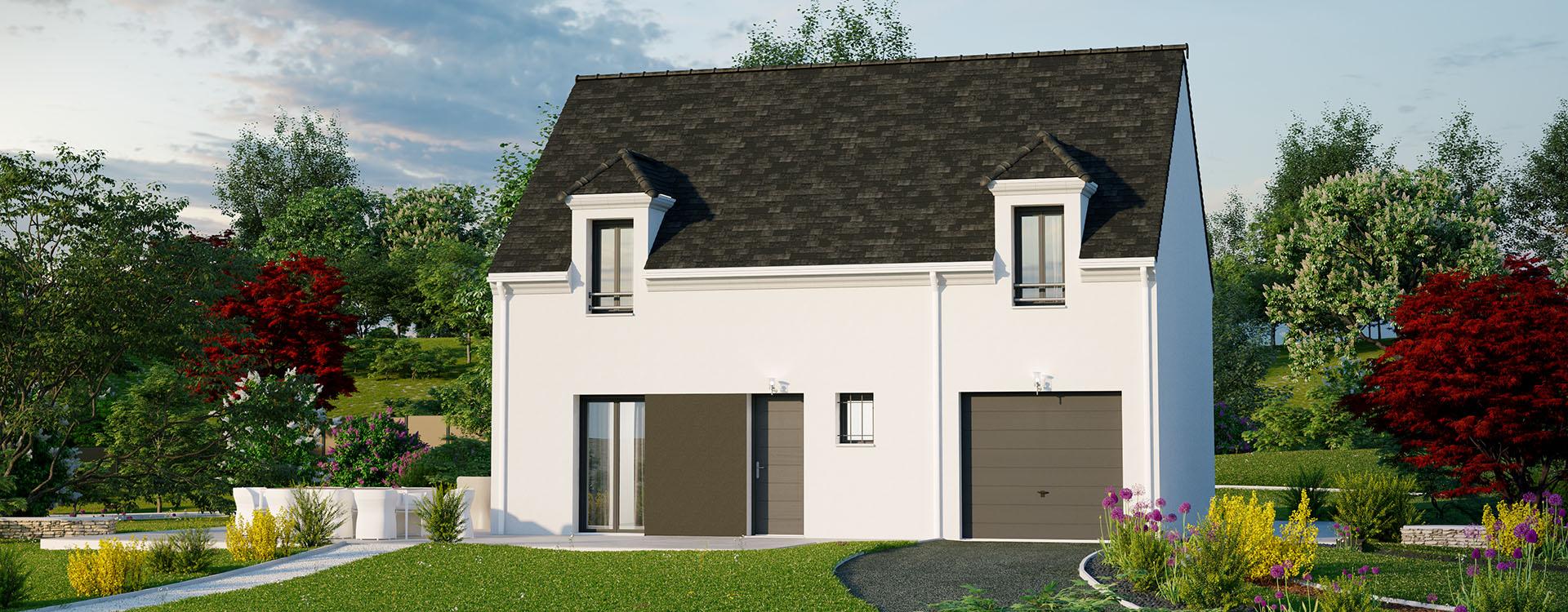 Maisons du constructeur MAISONS PIERRE PUISEUX PONTOISE • 97 m² • OSNY