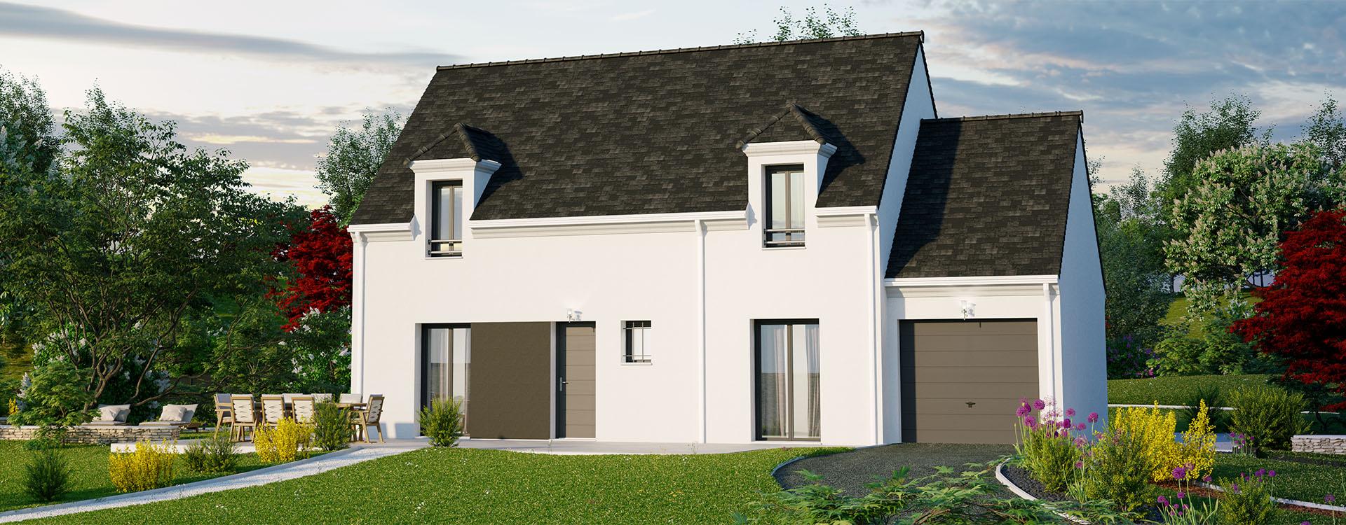 Maisons du constructeur MAISONS PIERRE PUISEUX PONTOISE • 112 m² • OSNY