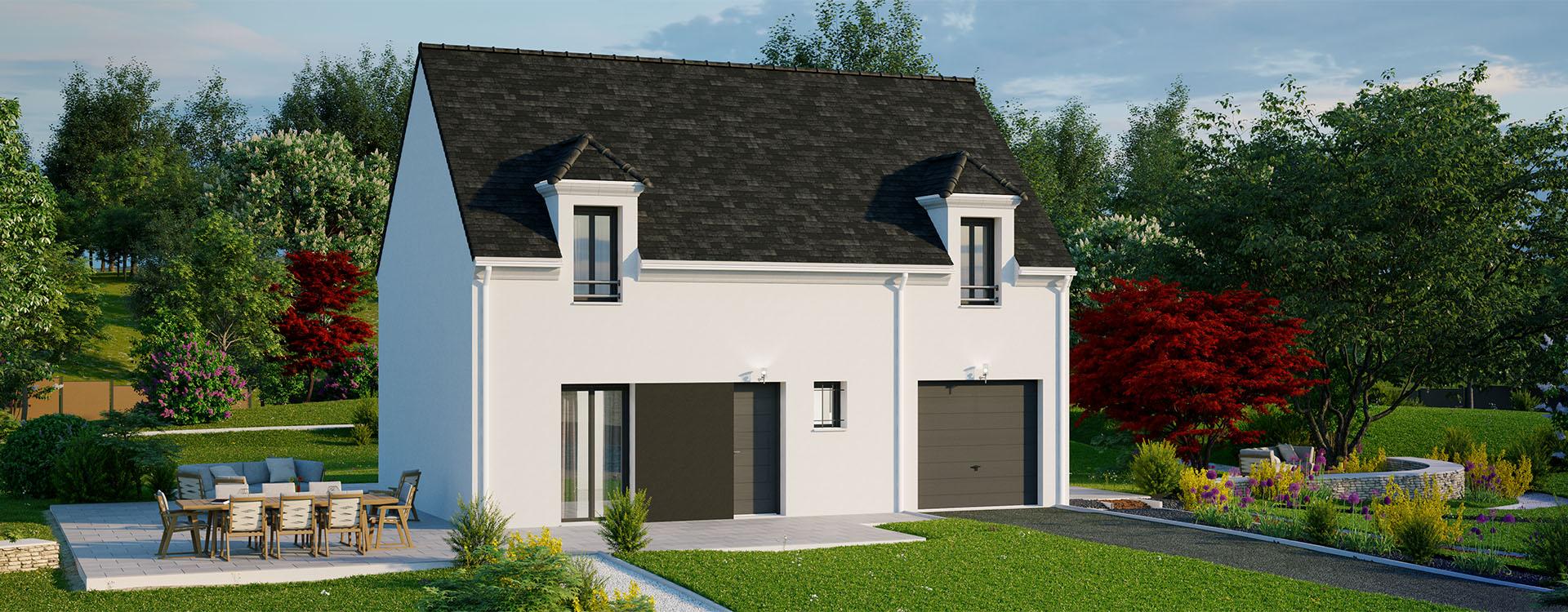 Maisons du constructeur MAISONS PIERRE PUISEUX PONTOISE • 90 m² • VIARMES