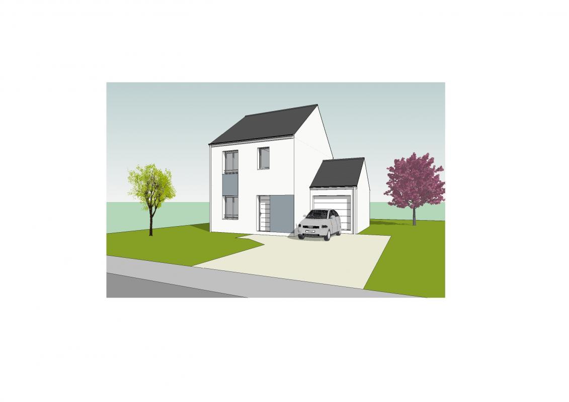 Maisons du constructeur MAISONS PIERRE PUISEUX PONTOISE • 78 m² • JOUY LE MOUTIER