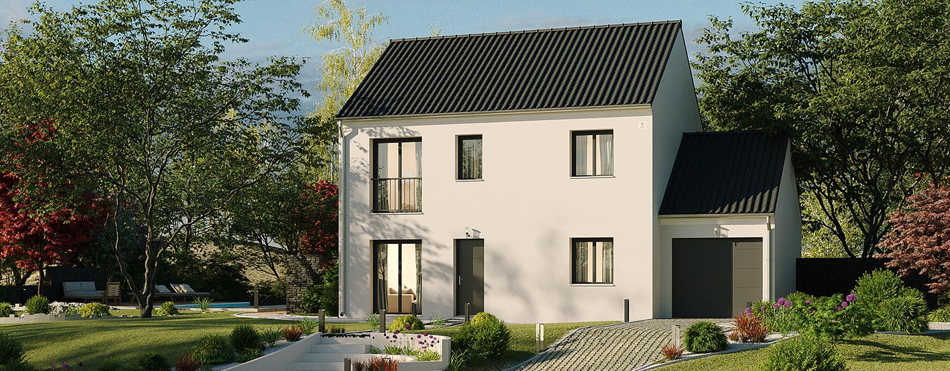 Maisons du constructeur MAISONS PIERRE PUISEUX PONTOISE • 96 m² • NEUVILLE SUR OISE
