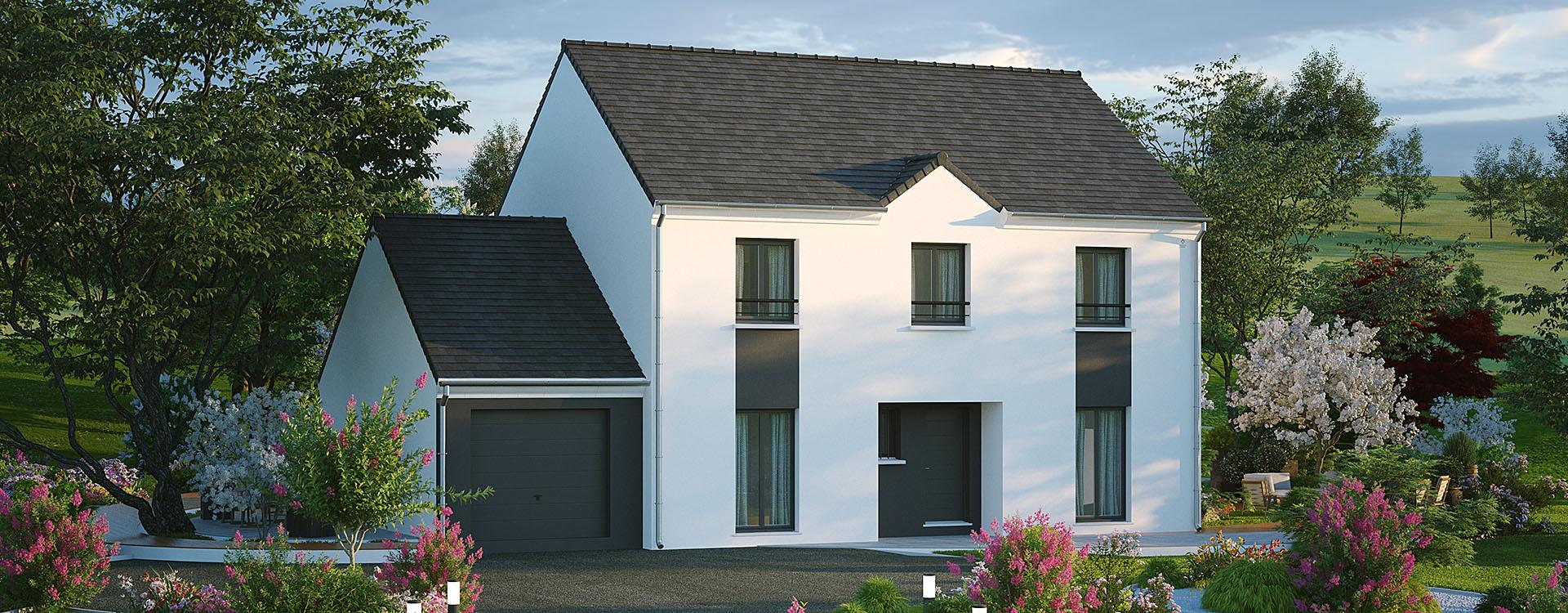 Maisons du constructeur MAISONS PIERRE PUISEUX PONTOISE • 151 m² • VAUREAL
