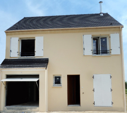 Maisons du constructeur MAISONS PIERRE MONTEVRAIN • 104 m² • CHEVRY COSSIGNY