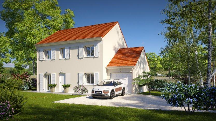 Maisons du constructeur MAISONS PIERRE MONTEVRAIN • 110 m² • SAMMERON