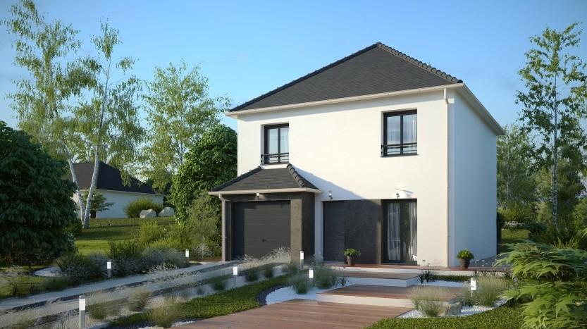 Maisons du constructeur MAISONS PIERRE MONTEVRAIN • 96 m² • LAGNY SUR MARNE