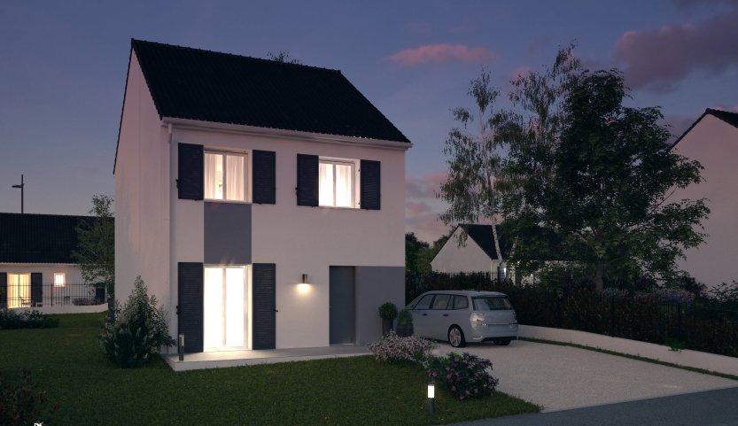 Maisons du constructeur MAISONS PIERRE MONTEVRAIN • 88 m² • LAGNY SUR MARNE