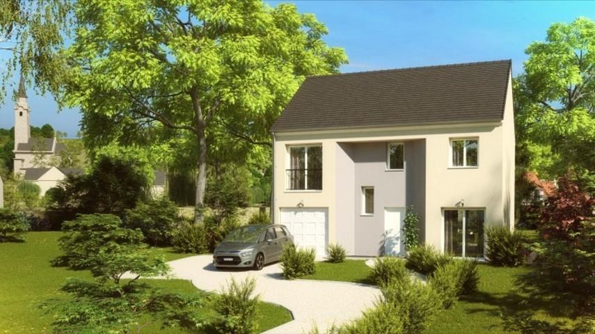 Maisons du constructeur MAISONS PIERRE MONTEVRAIN • 118 m² • MONTEVRAIN
