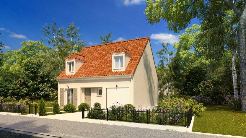 Maisons du constructeur MAISONS PIERRE MONTEVRAIN • 95 m² • MONTEVRAIN