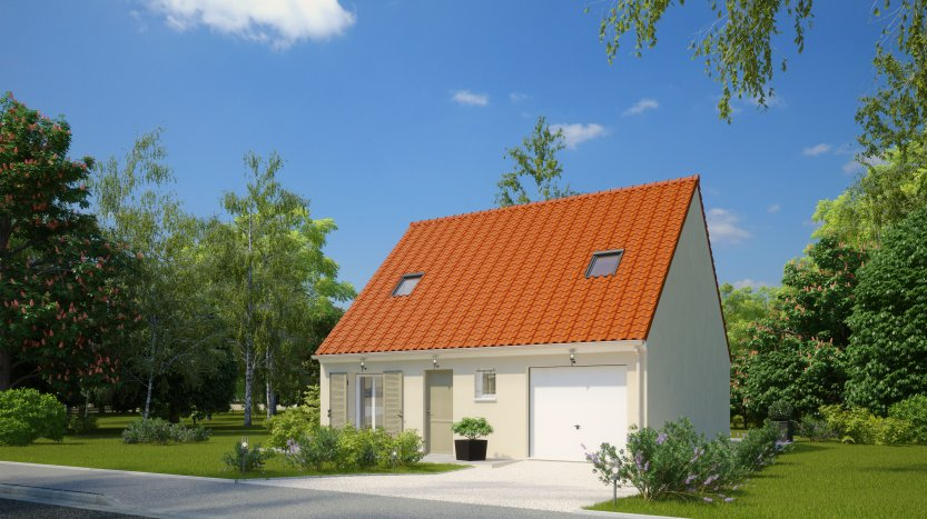Maisons du constructeur MAISONS PIERRE MONTEVRAIN • 82 m² • MONTEVRAIN
