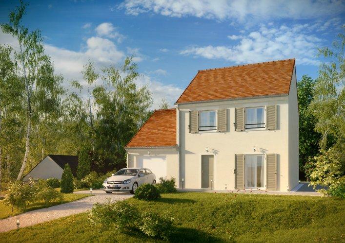 Maisons du constructeur MAISONS PIERRE MONTEVRAIN • 92 m² • CHESSY