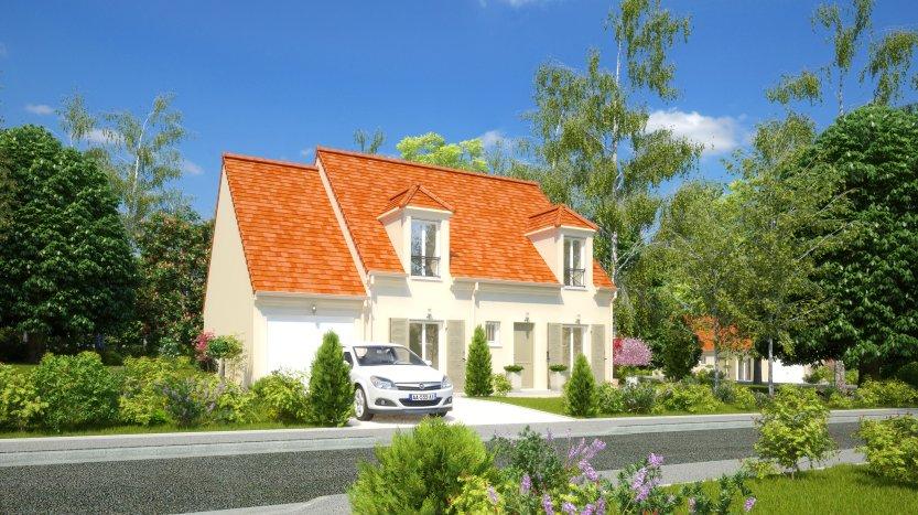 Maisons du constructeur MAISONS PIERRE MONTEVRAIN • 107 m² • MONTRY