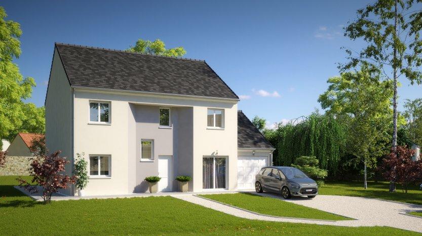 Maisons du constructeur MAISONS PIERRE MONTEVRAIN • 133 m² • CRECY LA CHAPELLE