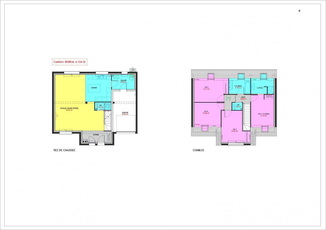 Maisons du constructeur MAISONS PIERRE MONTEVRAIN • 124 m² • MONTEVRAIN