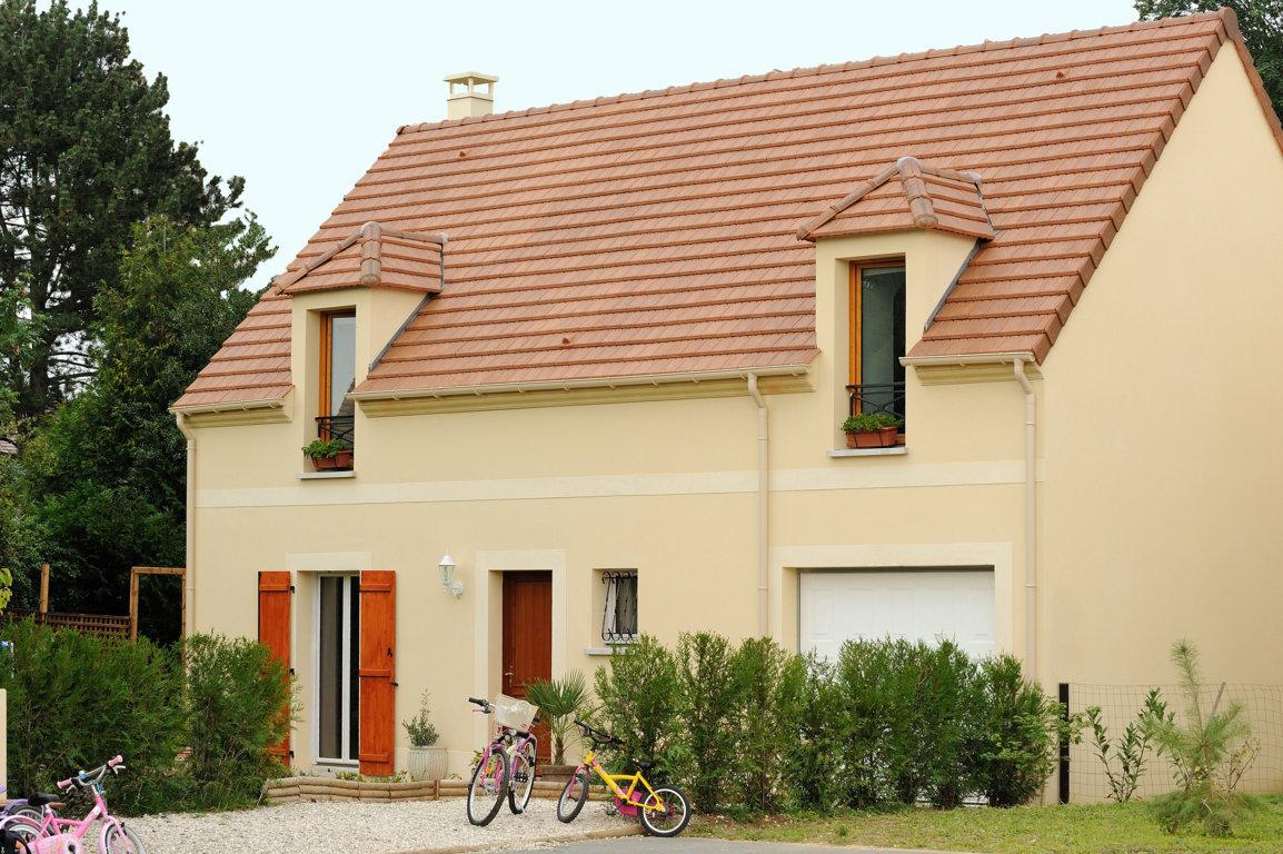 Maisons du constructeur MAISONS PIERRE MONTEVRAIN • 96 m² • SAINT GERMAIN SUR MORIN