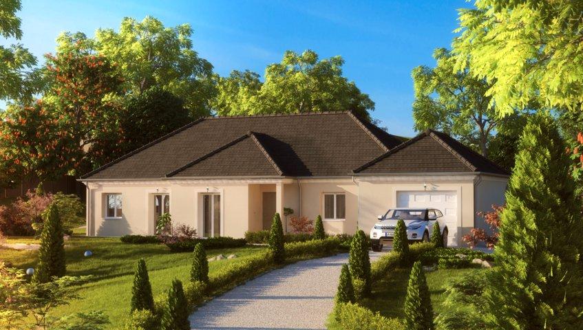 Maisons du constructeur MAISONS PIERRE MONTEVRAIN • 132 m² • CRECY LA CHAPELLE