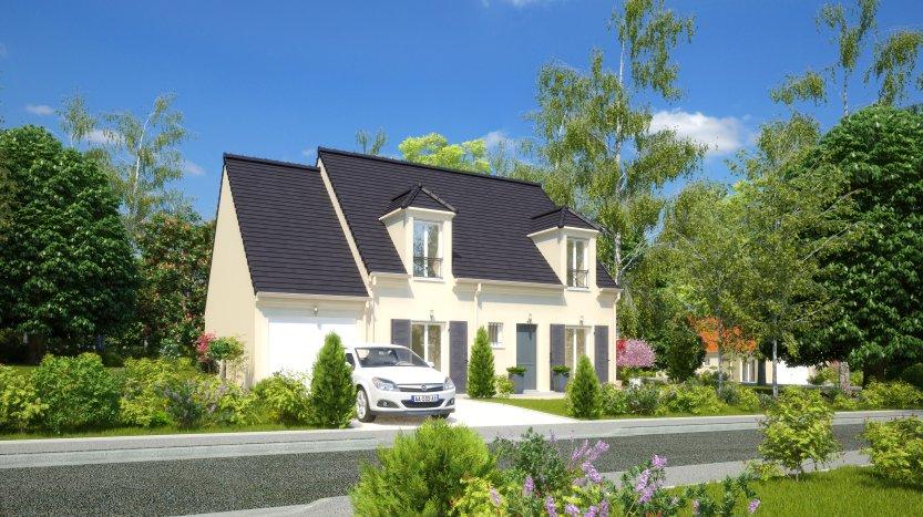 Maisons du constructeur MAISONS PIERRE MONTEVRAIN • 107 m² • VAUX LE PENIL