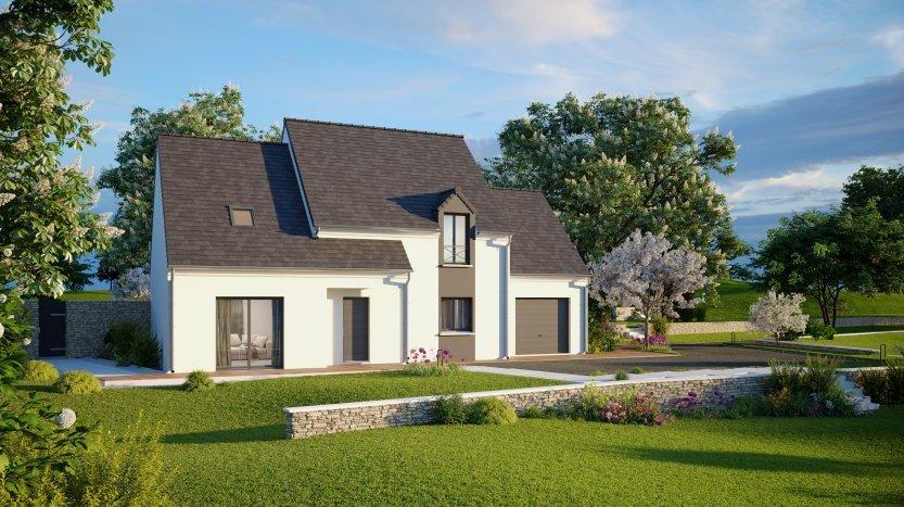 Maisons du constructeur MAISONS PIERRE MONTEVRAIN • 139 m² • VAUX LE PENIL