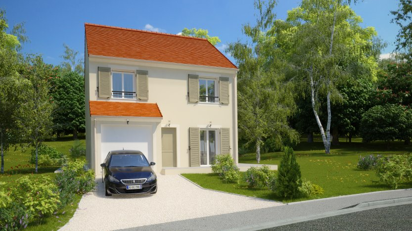Maisons du constructeur MAISONS PIERRE MONTEVRAIN • 96 m² • VAUX LE PENIL