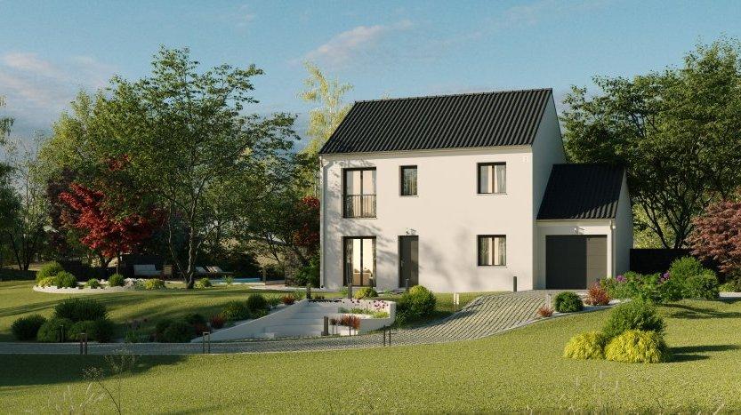 Maisons du constructeur MAISONS PIERRE MONTEVRAIN • 110 m² • VAUX LE PENIL