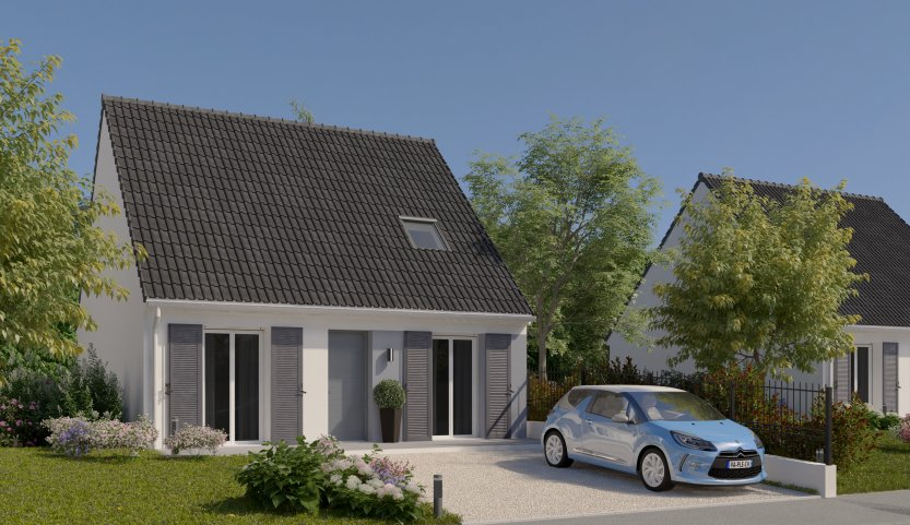 Maisons du constructeur MAISONS PIERRE MONTEVRAIN • 81 m² • VAUX LE PENIL