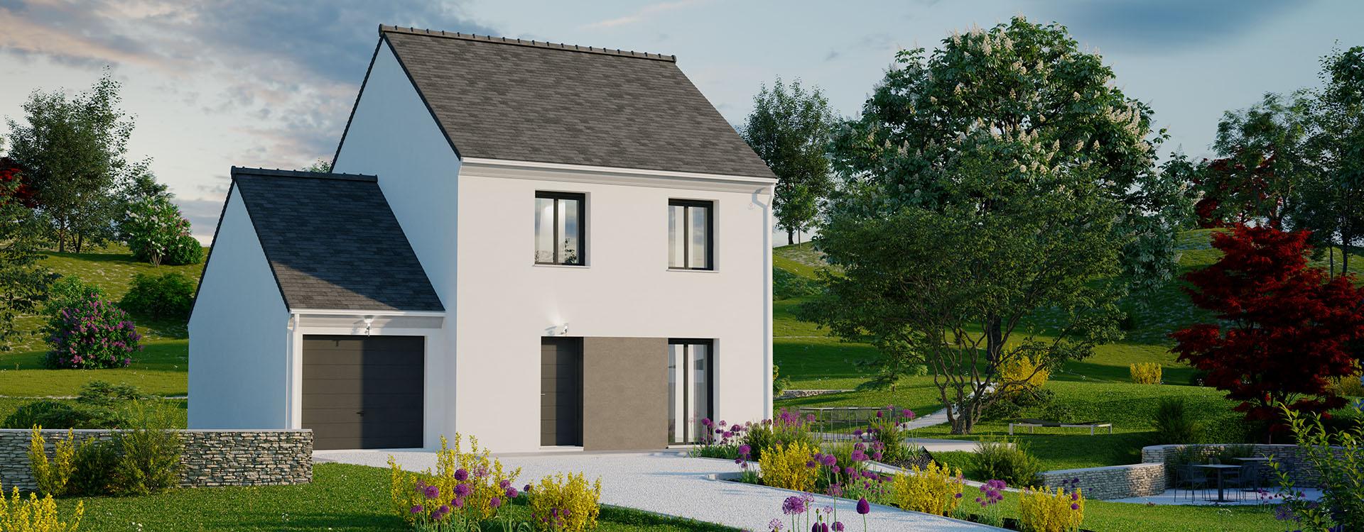 Maisons du constructeur MAISONS PIERRE MONTEVRAIN • 91 m² • LAGNY SUR MARNE