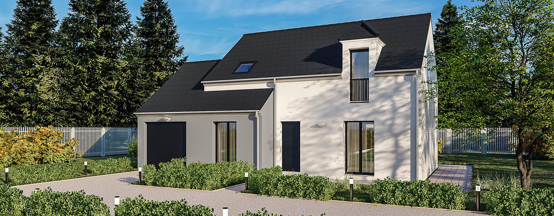 Maisons du constructeur MAISONS PIERRE MONTEVRAIN • 108 m² • MONTRY