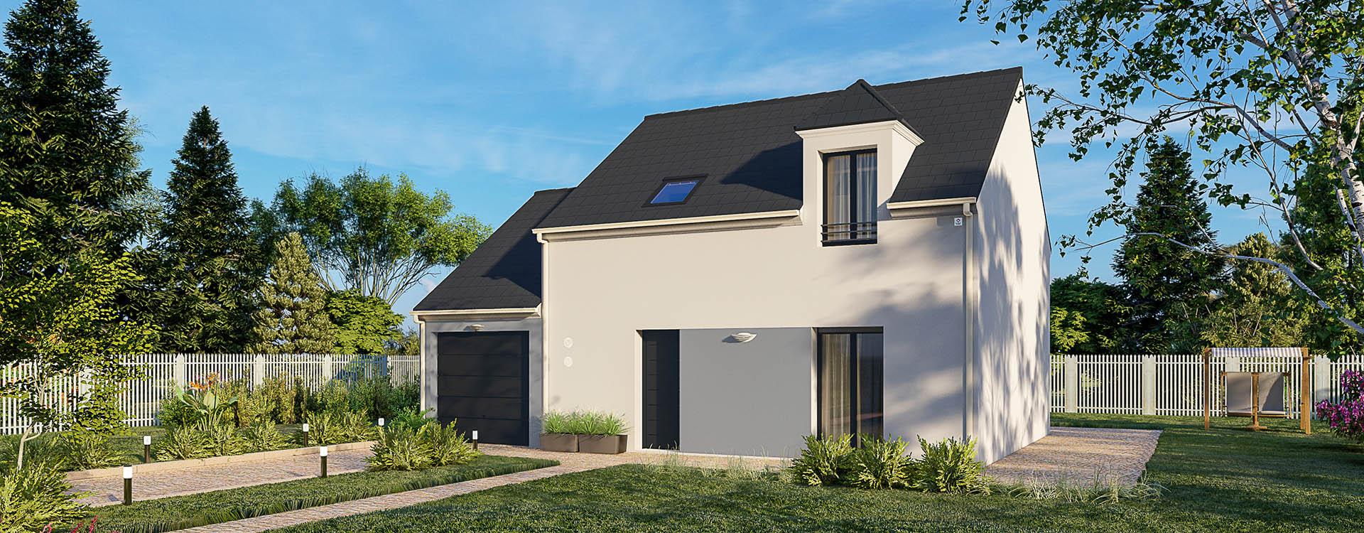 Maisons du constructeur MAISONS PIERRE MONTEVRAIN • 87 m² • FUBLAINES