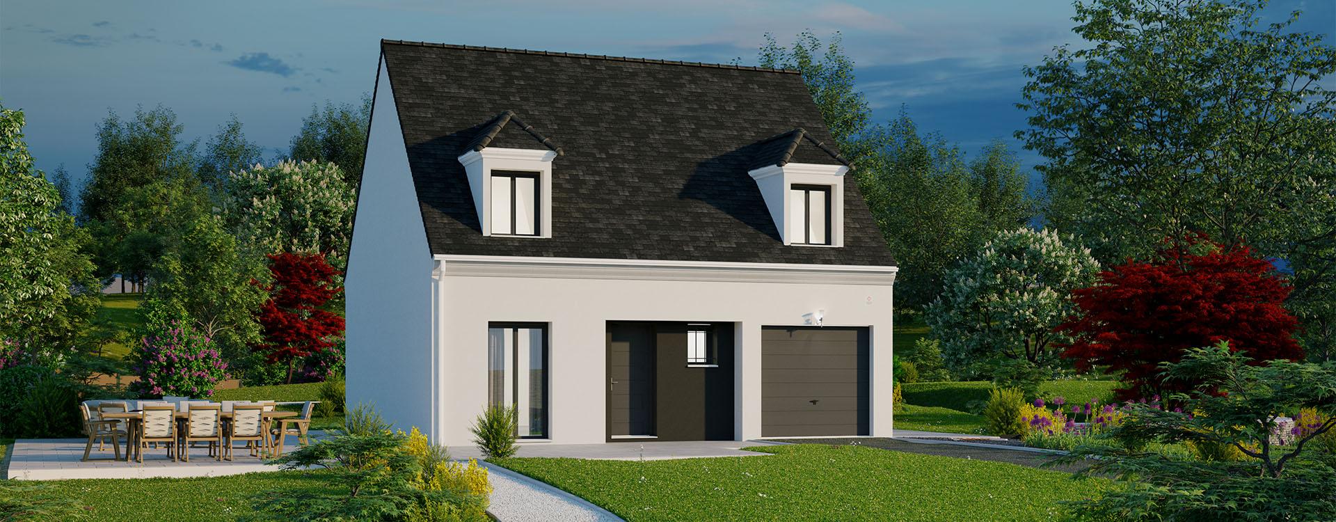 Maisons du constructeur MAISONS PIERRE MONTEVRAIN • 94 m² • TOURNAN EN BRIE