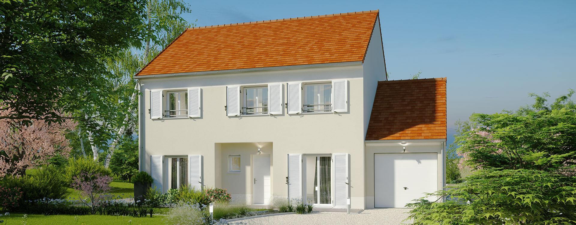 Maisons du constructeur MAISONS PIERRE MONTEVRAIN • 133 m² • LA HOUSSAYE EN BRIE