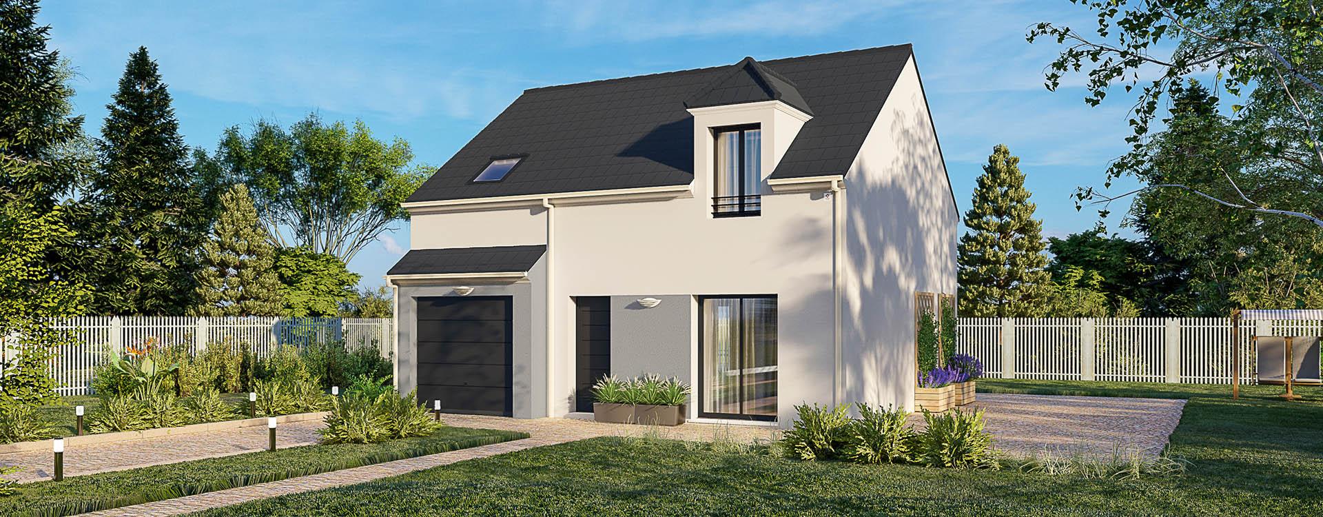 Maisons du constructeur MAISONS PIERRE MONTEVRAIN • 86 m² • MESSY