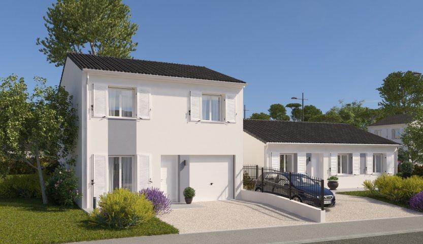 Maisons du constructeur MAISONS PIERRE NANTES NORD • 87 m² • LES SORINIERES