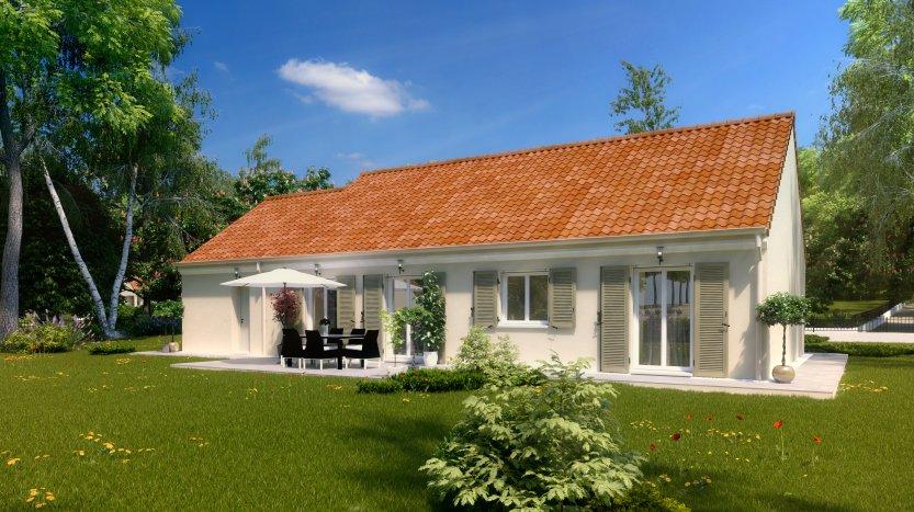 Maisons du constructeur MAISONS PIERRE • 99 m² • FROSSAY