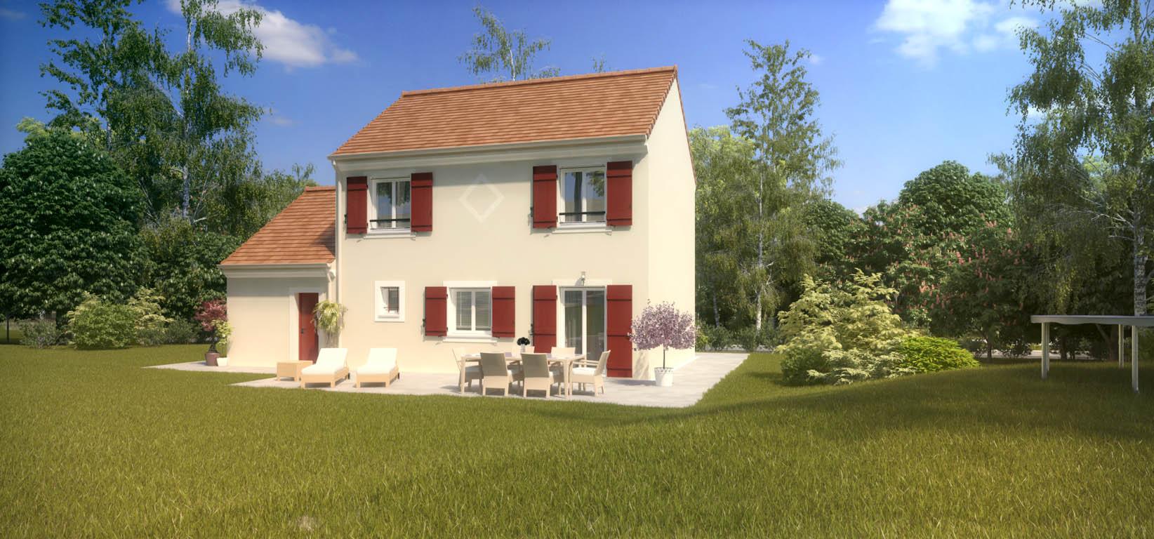 Maisons du constructeur MAISONS PIERRE BELLE EPINE • 87 m² • VILLECRESNES