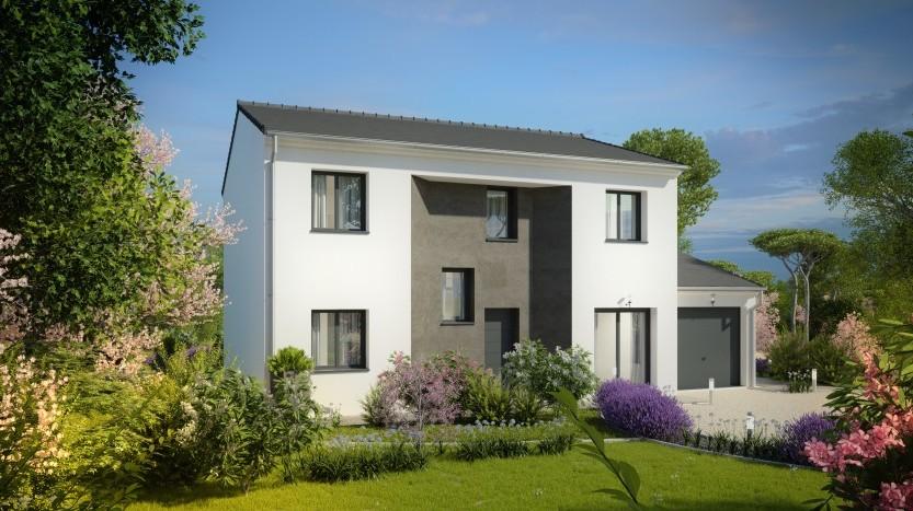 Maisons du constructeur MAISONS PIERRE BELLE EPINE • 133 m² • VILLECRESNES