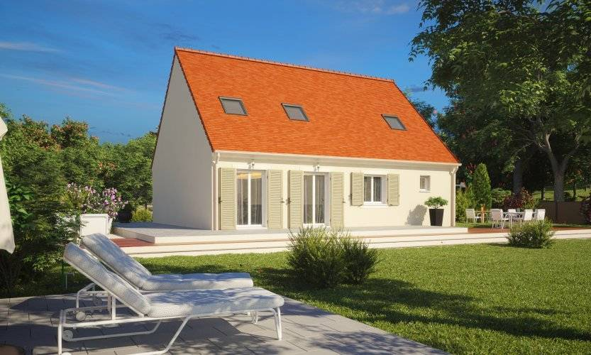 Maisons du constructeur MAISONS PIERRE • 109 m² • CERNY