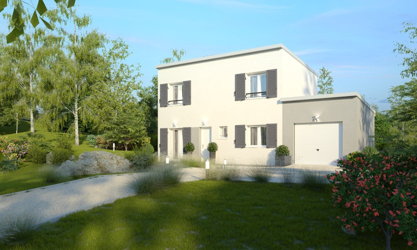 Maisons du constructeur MAISONS PIERRE • 87 m² • EGLY