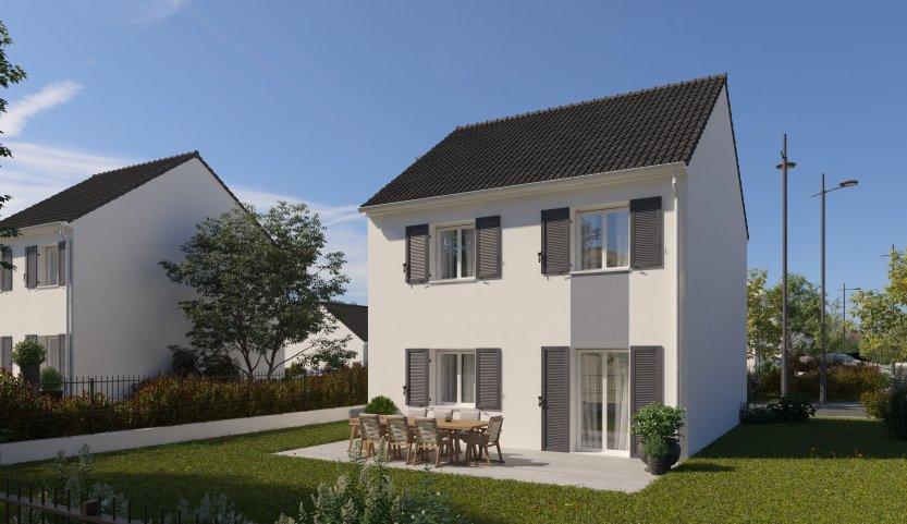 Maisons du constructeur MAISONS PIERRE VILLE DU BOIS • 87 m² • LINAS