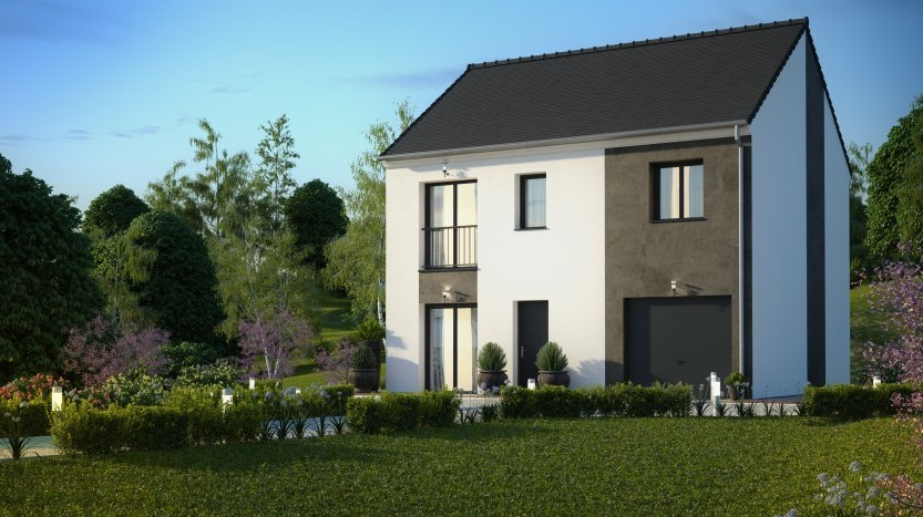 Maisons du constructeur MAISONS PIERRE VILLE DU BOIS • 95 m² • SAINT GERMAIN LES ARPAJON