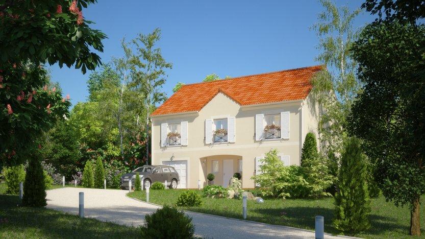 Maisons du constructeur MAISONS PIERRE VILLE DU BOIS • 151 m² • SAINT GERMAIN LES ARPAJON