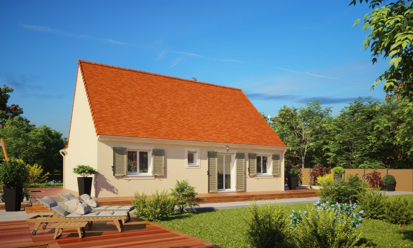 Maisons du constructeur MAISONS PIERRE VILLE DU BOIS • 87 m² • CERNY