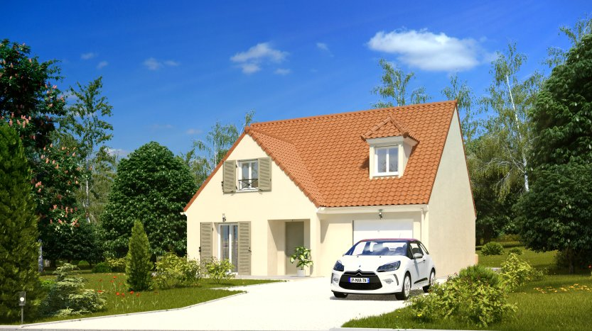 Maisons du constructeur MAISONS PIERRE VILLE DU BOIS • 97 m² • LE VAL SAINT GERMAIN