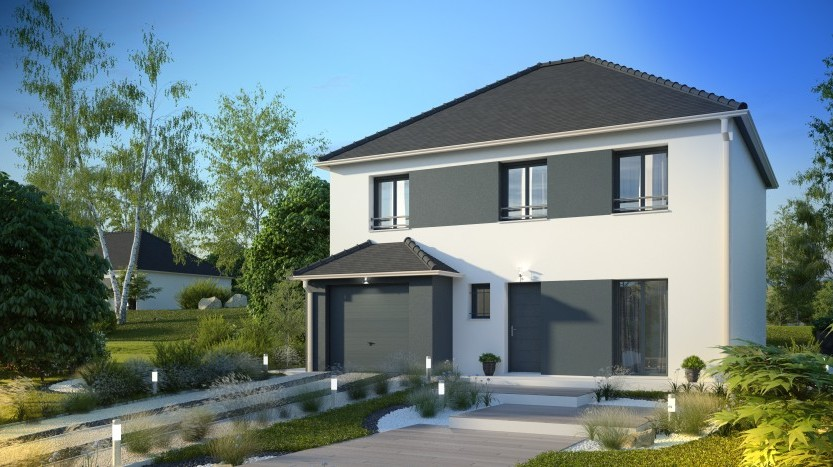 Maisons du constructeur MAISONS PIERRE AULNAY 1 • 126 m² • TREMBLAY EN FRANCE