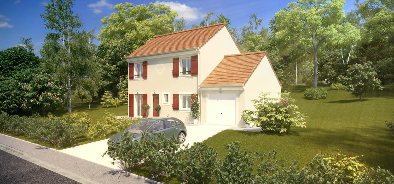 Maisons du constructeur MAISONS PIERRE AULNAY 1 • 87 m² • CLICHY SOUS BOIS