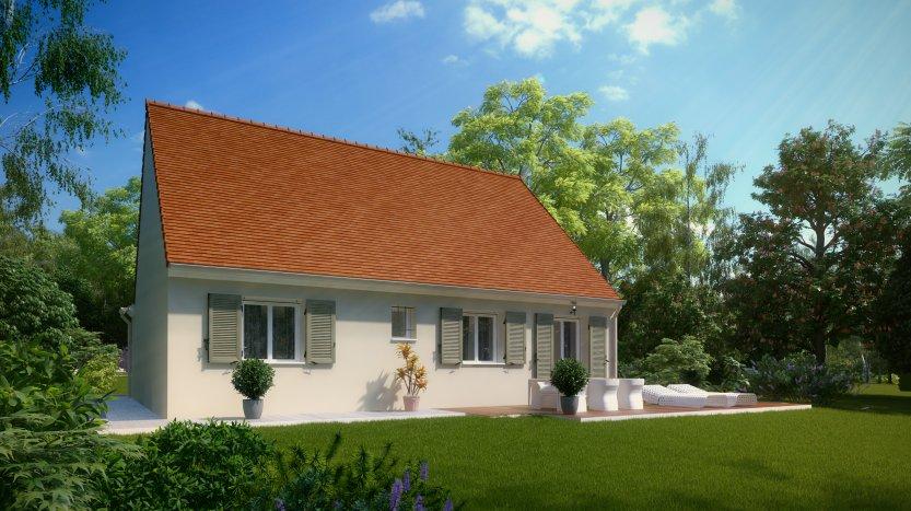 Maisons du constructeur MAISONS PIERRE ORLEANS • 86 m² • SAINT HILAIRE SAINT MESMIN