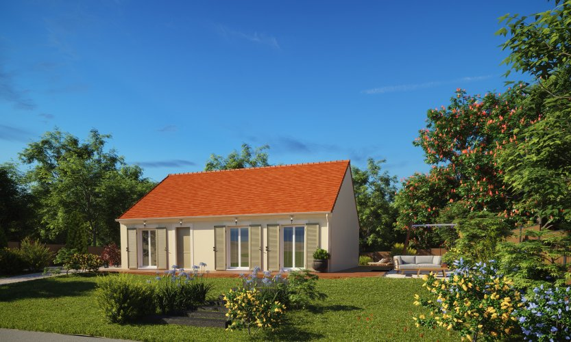 Maisons du constructeur MAISONS PIERRE ORLEANS • 84 m² • LA CHAPELLE SAINT MESMIN