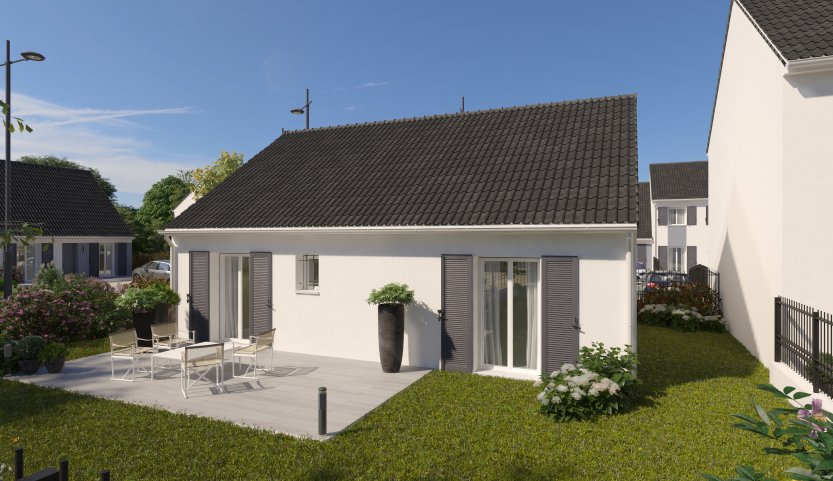 Maisons du constructeur MAISONS PIERRE ORLEANS • 76 m² • CLERY SAINT ANDRE