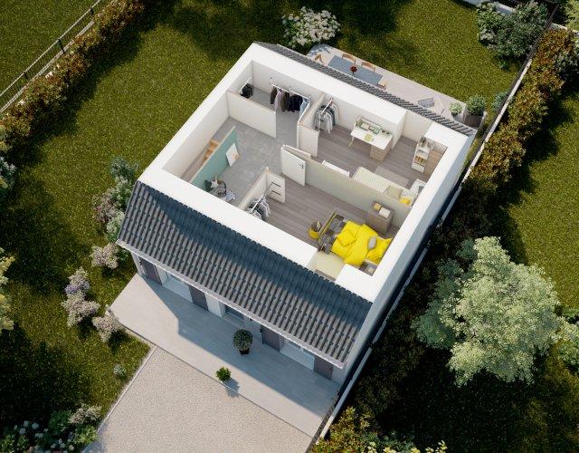 Maisons du constructeur MAISONS PIERRE ISSOU • 81 m² • CARRIERES SOUS POISSY