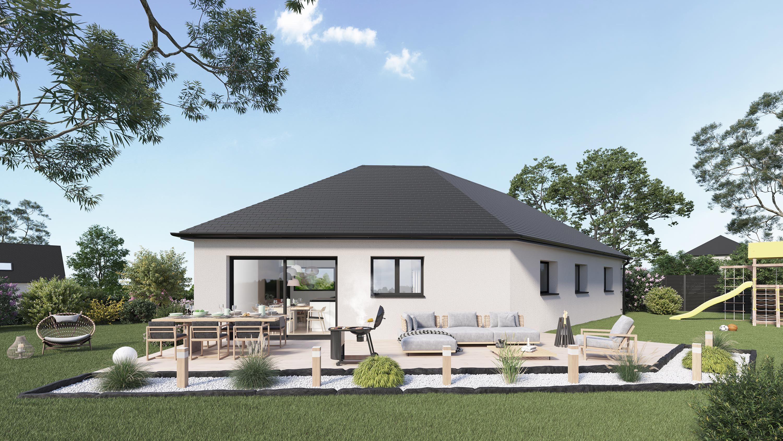 Maisons + Terrains du constructeur Maison Castor Amiens • 96 m² • LAMOTTE WARFUSEE