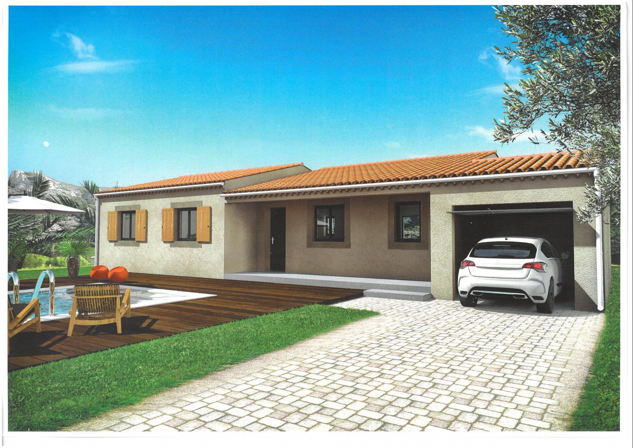 Maisons du constructeur ALPHA VILLAS • 90 m² • LE THOR
