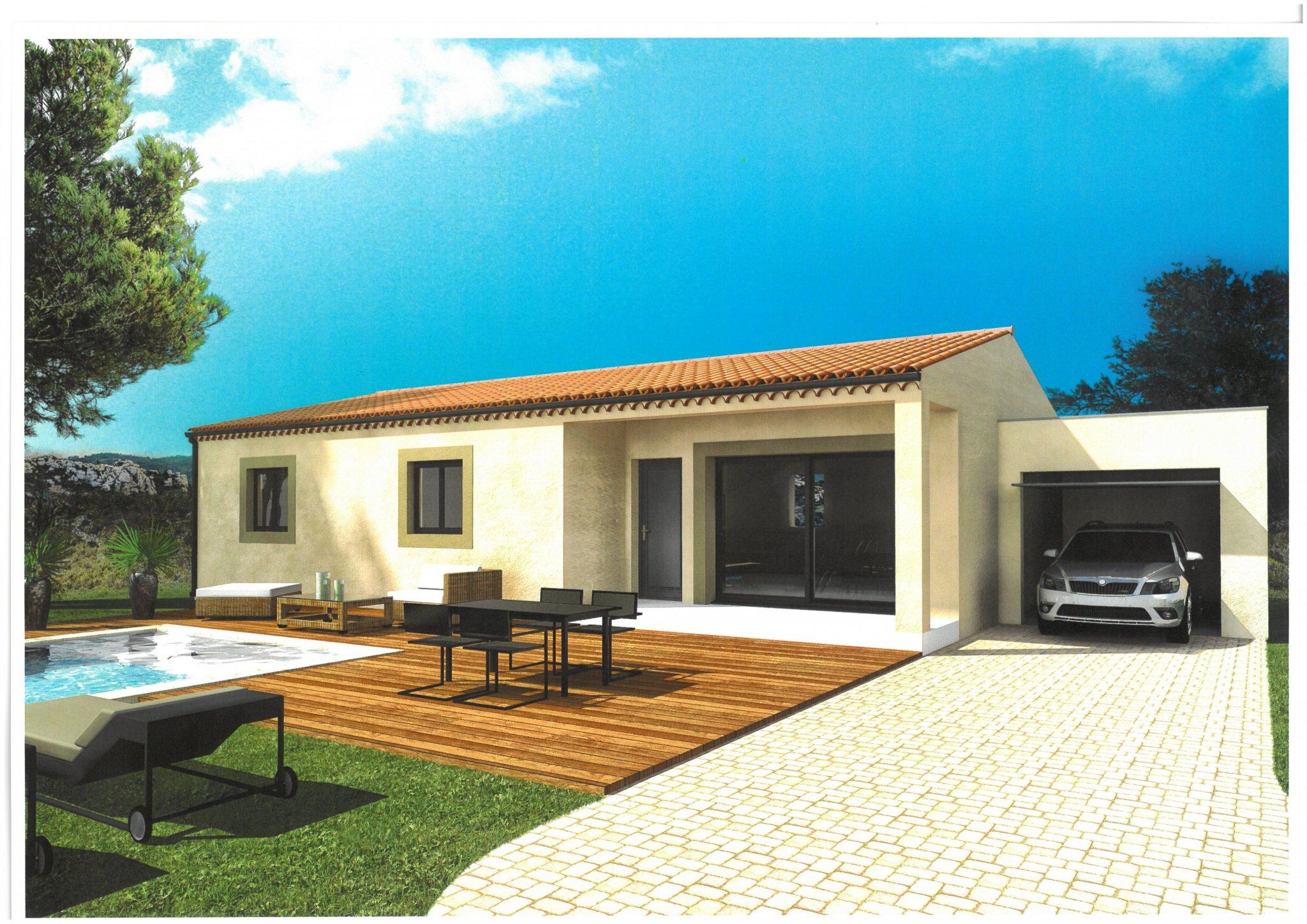 Maisons du constructeur ALPHA VILLAS • 80 m² • RASTEAU